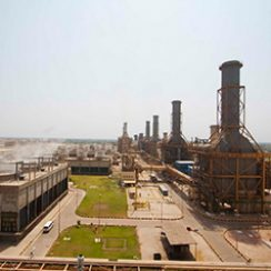 Thermal Power Plant at Guddu
